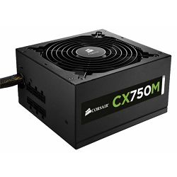 Napajanje Corsair CX750M PSU, 750W, CX-M Series