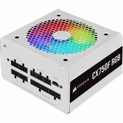 Corsair PSU, 750W, CX750F RGB White