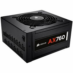 Napajanje Corsair Professional Platinum Series, AX760 ATX, EPS12V, Fully Modular PSU, EU Version
