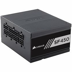 Napajanje CORSAIR SF Series SF450 — 450 Watt 80 PLUS Gold Certified High Performance SFX PSU (EU)