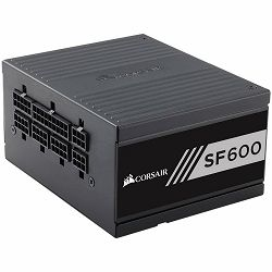 Napajanje CORSAIR SF Series SF600 — 600 Watt 80 PLUS Gold Certified High Performance SFX PSU (EU)