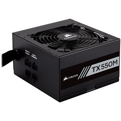 Napajanje Corsair Enthusiast Series TX550 Watt Modular Power Supply 80 Plus Gold Certified, EU Version