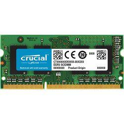 Memorija Crucial 8GB DDR3L-1600 SODIMM