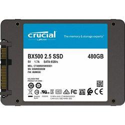 SSD Crucial 480GB BX500 SATA