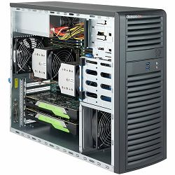 Supermicro server chassis CSE-732D3-1200B, 3 years warranty, 4 x 3.5