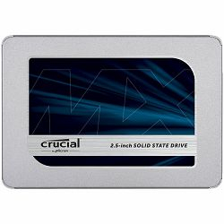 "CRUCIAL MX500 1TB SSD, 2.5"" 7mm (with 9.5mm adapter), SATA 6 Gbit, s, Read, Write: 560 MB, s ,  510 MB, s, Random Read, Write IOPS 95K, 90K"