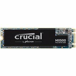 CRUCIAL MX500 1TB SSD, M.2 Type 2280SS, SATA 6 Gbit/s, Read/Write: 560 MB/s / 510 MB/s, Random Read/Write IOPS 95K/90K