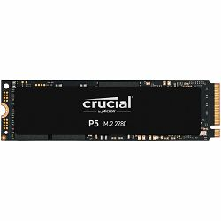 Crucial SSD 1000GB P5 M.2 NVMe PCIEx4 80mm Micron 3D NAND  3400/3000 MB/s, 5yrs, 7mm