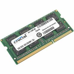 Memorija Crucial 8GB DDR3L 1600 MT/s  (PC3-12800) CL11 SODIMM 204pin 1.35V/1.5V
