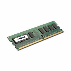 Memorija CRUCIAL CT12864AA800 (DDR2 SDRAM,1GB,800MHz(PC2-6400),CL6,128 x 64,DIMM 240-pin,Unbuffered) Retail