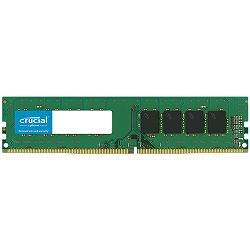 Memorija Crucial 16GB DDR4-2666 UDIMM, CL=19, Dual Ranked, x8 based, Unbuffered, NON-ECC, 1.2V