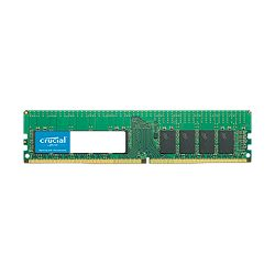 Memorija CRUCIAL 16GB DDR4-2666 RDIMM, CL=19, Dual Ranked, x8 based, Registered, ECC, DDR4-2666, 1.2V, 2048Meg x 72