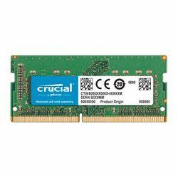 Memorija Crucial DRAM 16GB DDR4 2400 MT/s (PC4-19200) CL17 DR x8 Unbuffered SODIMM 260pin for Mac, EAN: 649528783325