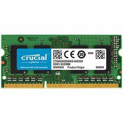 Memorija Crucial 4GB DDR3 1066 MT/s (PC3-8500) CL7 SODIMM 204pin for Mac