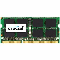 Memorija Crucial 4GB DDR3 1333 MT/s (PC3-10600) CL9 SODIMM 204pin 1.35V/1.5V for Mac