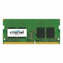 Memorija Crucial DRAM 4GB DDR4 2400 MT/s (PC4-19200) CL17 SR x8 Unbuffered SODIMM 260pin, EAN: 649528774798