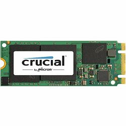 Crucial SSD 500GB MX200 M.2 SATA Type 2260DS (dual-sided), 60mm, 555/500 MB/s, EAN: 649528770998