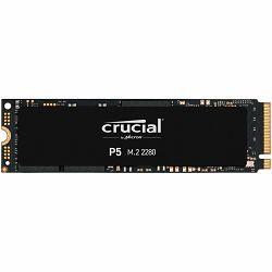 SSD Crucial 500GB P5 M.2 NVMe PCIEx4 80mm Micron 3D NAND  3400/3000 MB/s, 5yrs, 7mm