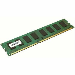 Memorija Crucial RAM 4GB DDR3L 1600 MT/s (PC3L-12800) CL11 Unbuffered UDIMM 240pin 1.35V/1.5V Single Ranked