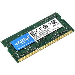 Memorija Crucial 4GB DDR3 1600 MT/s (PC3-12800) CL11 SODIMM 204pin 1.35V/1.5V