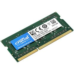 Memorija Crucial 4GB DDR3L 1600 MT/s (PC3-12800) CL11 SODIMM 204pin 1.35V/1.5V Single Ranked