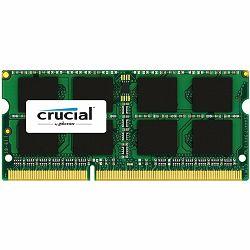 Memorija Crucial DRAM 8GB DDR3L 1866 MT/s  (PC3-14900) CL13 SODIMM 204pin 1.35V for Mac, EAN: 649528775283