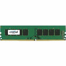 Crucial DRAM 8GB DDR4 2400 MT/s (PC4-19200) CL17 SR x8 Unbuffered DIMM 288pin Single Ranked, EAN: 649528776389