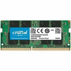 Memorija Crucial DRAM 8GB DDR4-2666 SODIMM, EAN: 649528903488