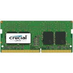 Memorija Crucial DRAM 8GB DDR4 2666 MT/s (PC4-21300) CL19 SR x8 Unbuffered SODIMM 260pin , EAN: 649528780065