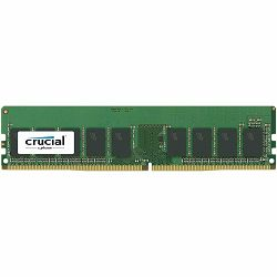 Memorija Crucial DRAM 8GB DDR4 2666 MT/s (PC4-21300) CL19 DR x8 ECC Unbuffered DIMM 288pin, EAN: 649528776822