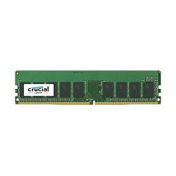 Memorija Crucial DRAM 8GB DDR4 2400 MT/s (PC4-19200) CL17 SR x8 ECC Unbuffered DIMM 288pin, EAN: 649528772428