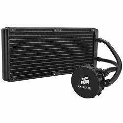 Corsair Hydro Series H110, Intel™ LGA 1150, 1155, 1156, 1366, and 2011 + AMD sockets AM2, AM3 and FM1, dual 140mm fan + 140x312mm radiator