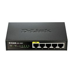 D-Link 5 10/100 Desktop Switch with PoE