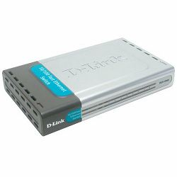 D-Link 8 10, 100 Desktop Switch, DES-1008D, E