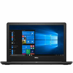 Laptop DELL Inspiron 3567 15.6 FHD (1920 x 1080), Intel Core i5-7200U (3MB,up to 3.10 GHz), 4GB DDR4, 256GB, AMD Radeon R5 M430 2GB, DVD±RW, WiFi AC, BT4.1, Black, Slovenian KB, Ubuntu