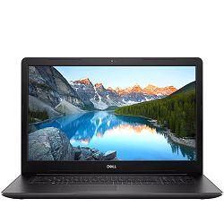 Laptop DELL Inspiron 3793 17.3 FHD(1920x1080), Intel Core i7-1065G7(8MB, 3.9 GHz), 8GB, m.2 512GB PCIe, 2GB NVIDIA MX230, DVDRW, WiFi, BT, Cam, HDMI, USB-C, 2x USB 3.1, USB 2.0, RJ-45, Linux, Black