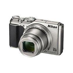 Digitalni fotoaparat NIKON Coolpix A900, 20 Mpixela, 35x optički zoom, SD/SDHC/SDXC, USB, WiFi, BT, srebrni
