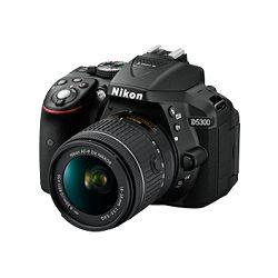 Digitalni fotoaparat NIKON D5300, 24.2 Mpixela, 3x optički zoom, SD/SDHC/SDXC/UHS-I, USB, + objektiv 18-55VR