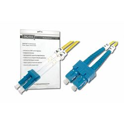Digitus Fiber Optic Singlemode Patch Cord, LC SC 1m