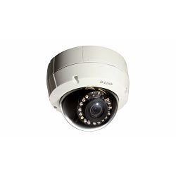 D-LINK Outdoor HD PoE D/N Vandal-Resistant Dome Camera