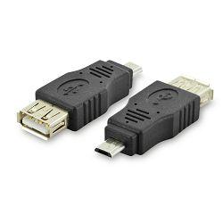 Adapter Digitus, micro USB B -> USB A F
