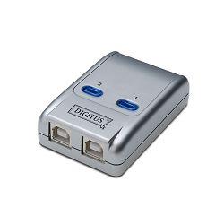 Digitus USB 2.0 sharing switch, 1-port