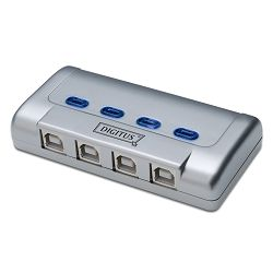 Digitus USB 2.0 sharing switch, 4-port