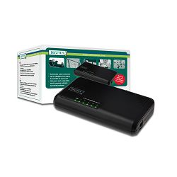 DIGITUS Fast Ethernet N-Way 5-port desktop switch