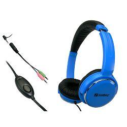 Slušalice Sandberg Street Headset, plave