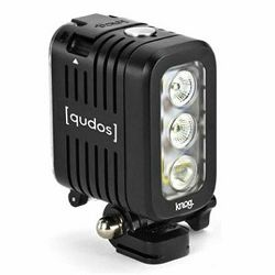 Dodatak za sportske digitalne kamere GOPRO Knog Qudos, LED svjetlo, crni