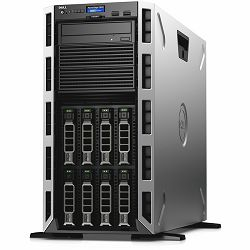 DELL EMC PowerEdge T430 Tower, 2S ,Intel Xeon E5-2620 v4 2.1GHz,20M Cache,8.0GT/s QPI,Turbo,HT,8C/16T, 8 x 3.5