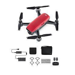 Dron DJI Spark Fly More Combo, Lava Red, FullHD kamera, 2-osni gimbal, upravljanje daljinskim upravljačem, crveni + dodatna oprema