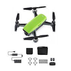 Dron DJI Spark Fly More Combo, Meadow Green, FullHD kamera, 2-osni gimbal, upravljanje daljinskim upravljačem, zeleni + dodatna oprema