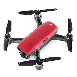 Dron DJI Spark, Lava Red, FullHD kamera, 2-osni gimbal, upravljanje smartphonom, crveni
